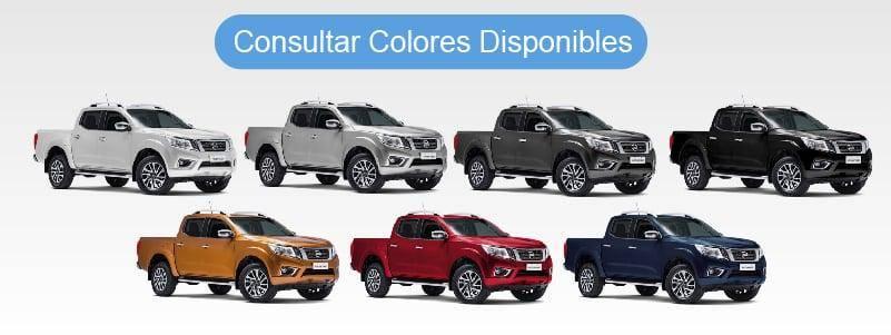 Colores Disponibles Nissan Frontier S 4x2 Ahora 84